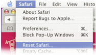 Technical Support - Reset Safari
