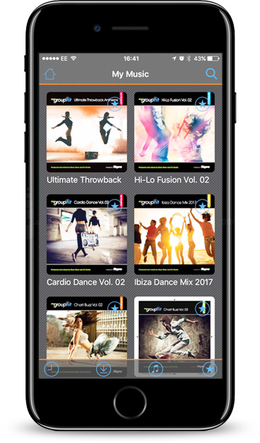 mygroupfit fitness music player app launched. Black Bedroom Furniture Sets. Home Design Ideas
